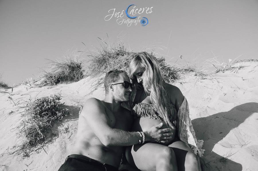 Playa del Palmar, Reportaje de Embarazo, Jose Caceres Fotografo-5