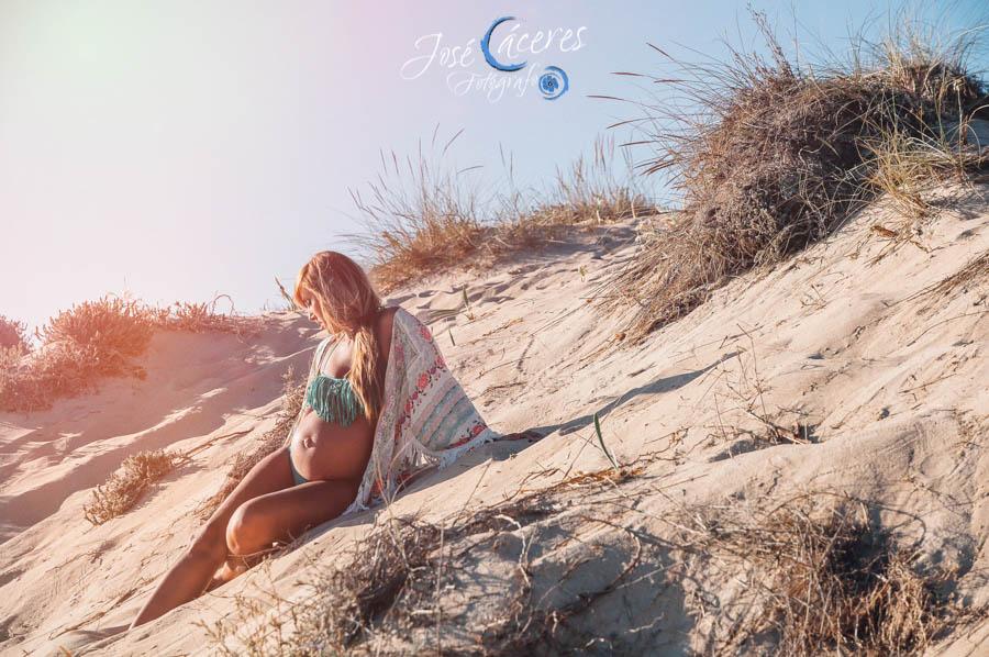 Portada, Playa del Palmar, Reportaje de Embarazo, Jose Caceres Fotografo-1
