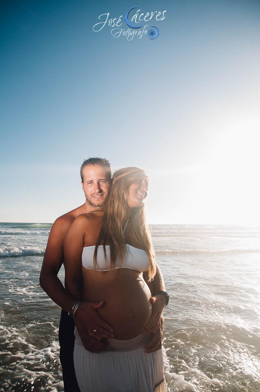 Portada, Playa del Palmar, Reportaje de Embarazo, Jose Caceres Fotografo-197