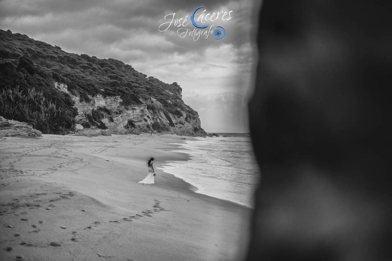 Sesion fotografica de jose caceres fotografia, post boda leticia y jose luis, playas-1
