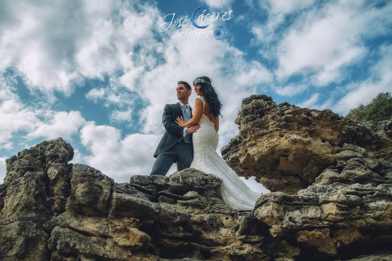 Sesion fotografica de jose caceres fotografia, post boda leticia y jose luis, playas-18