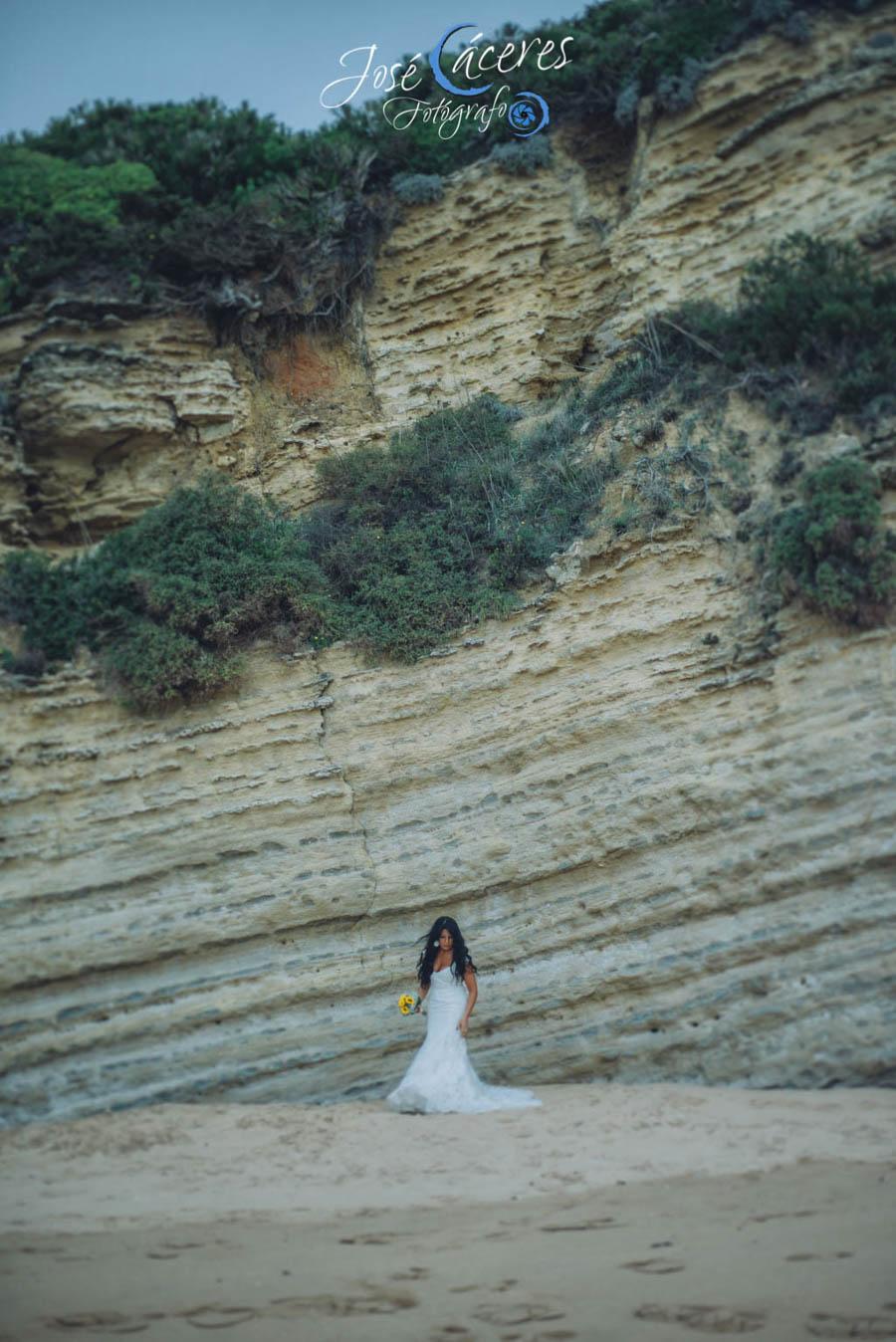 Sesion fotografica de jose caceres fotografia, post boda leticia y jose luis, playas-6