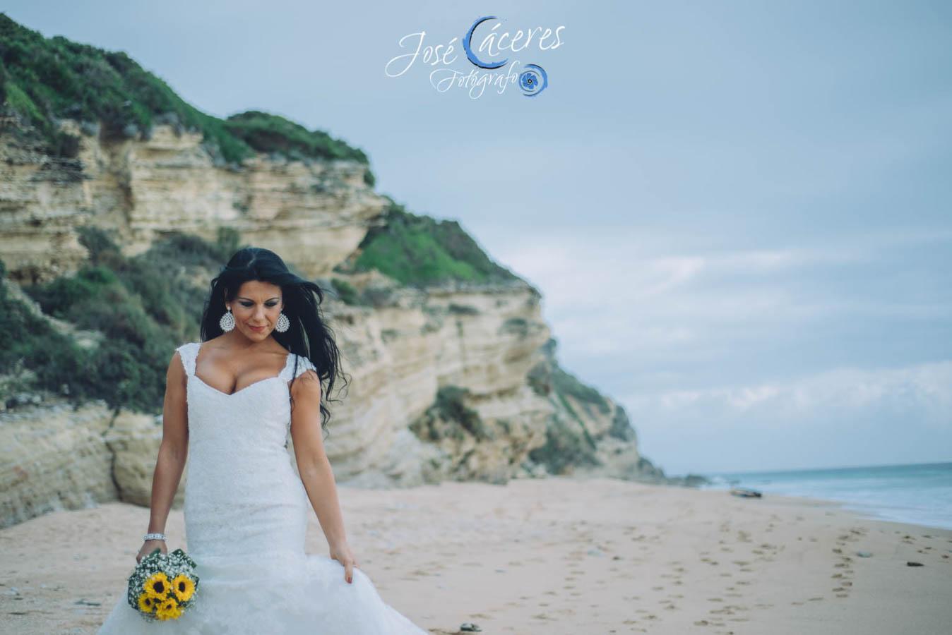 Sesion fotografica de jose caceres fotografia, post boda leticia y jose luis, playas-8