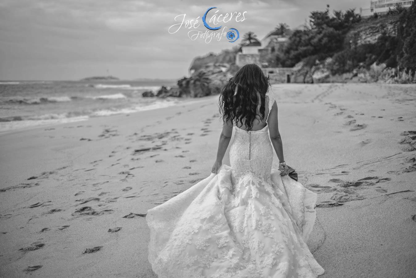Sesion fotografica de jose caceres fotografia, post boda leticia y jose luis, playas-9