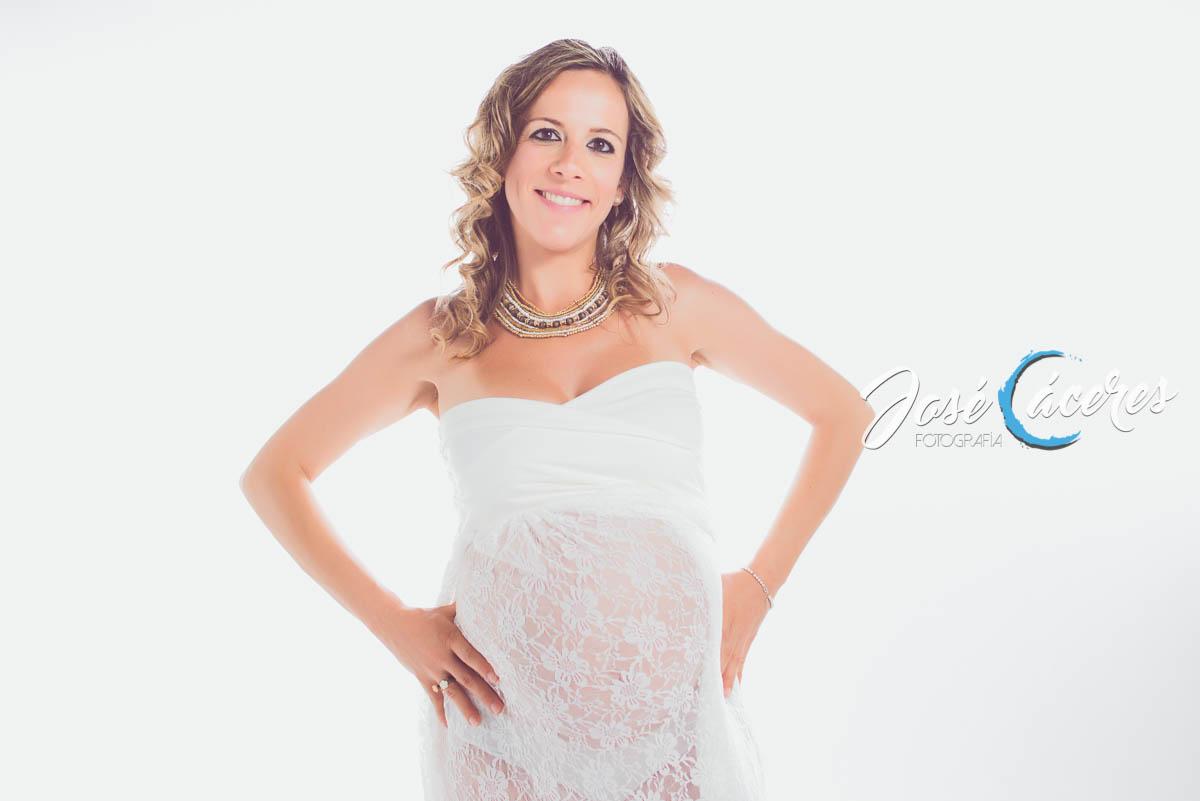 Sesión Fotográfica de embarazo, Rocío