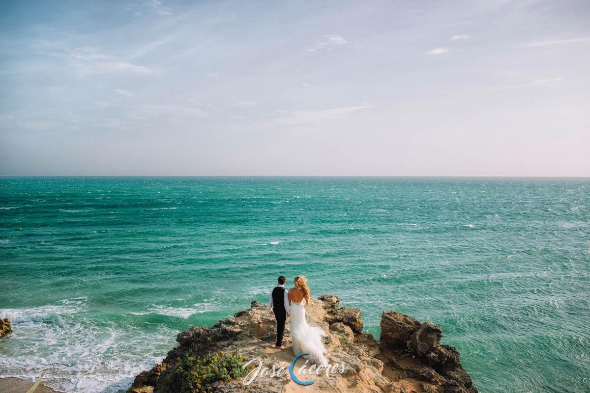 Reportajes postbodas o prebodas en la playa