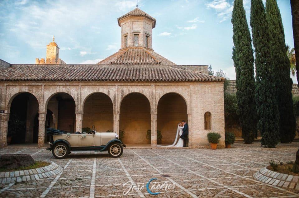 Reportaje en Alcázar de Jerez de la Frontera, Boda de R&M