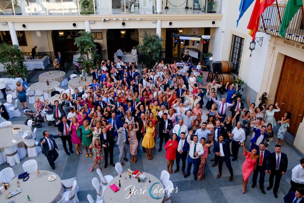 Invitados a la boda de Patricia & Juan Miguel, Bodegas Real Tesoro
