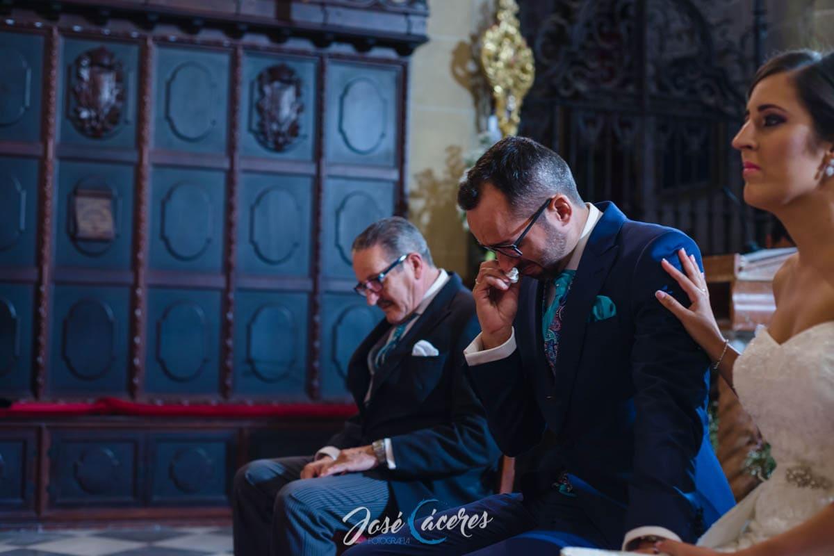 Boda en Señorío de Tabajete, Ceremonia en Iglesia de la Merced