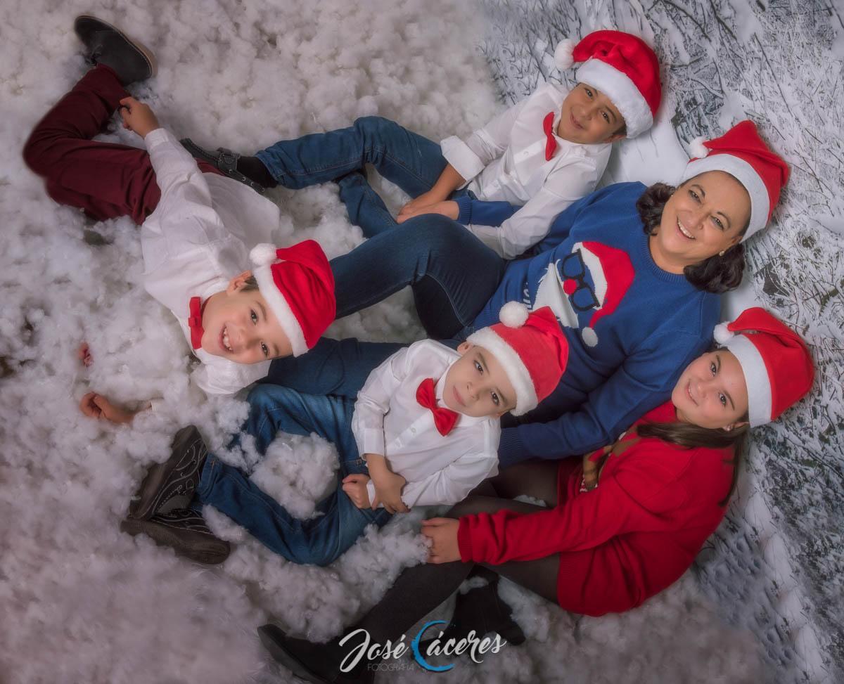 Navidad en nuestro estudio fotográfico