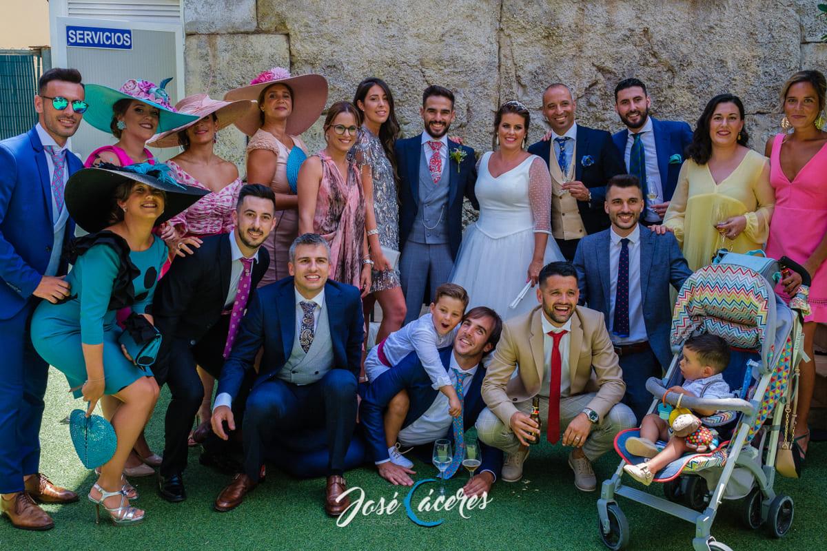 Invitados a las bodas