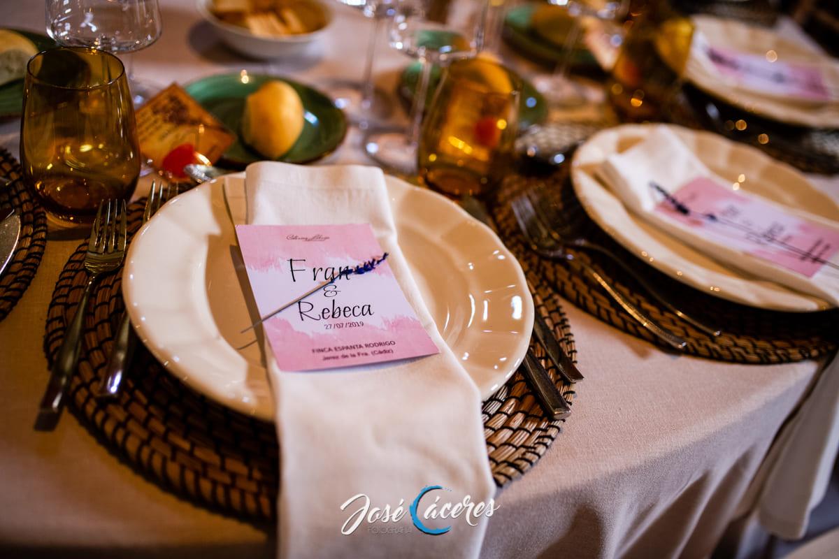 mesas de bodas
