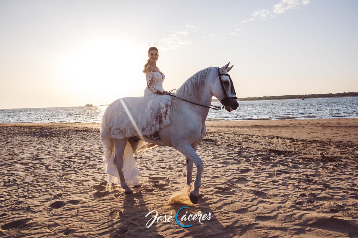 A caballo por Sanlúcar de Barrameda