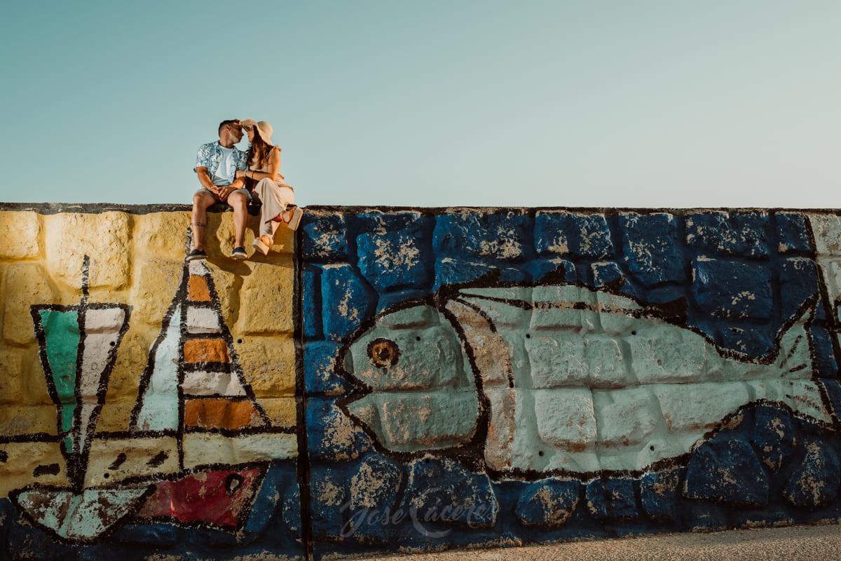 Reportaje preboda en puerto Sherry